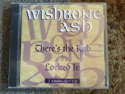 Wishbone Ash - There's The Rub/locked In Cd Brand New And Sealed • 8.49£