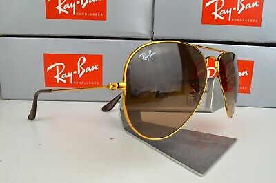 £79.99 • Buy NEW Ray-Ban Aviator RB3025 9001A5 Bronze-Copper / Pink Brown Gradient Lens 58mm