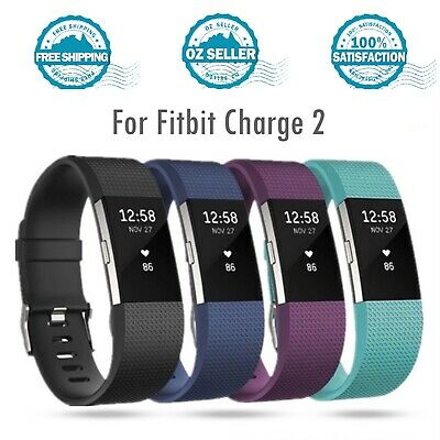 AU4.99 • Buy For Fitbit Charge 4 3 Band Charge 2 Replacement Soft TPU Band Official Pattern