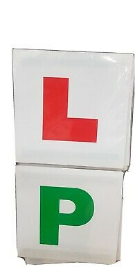 4 X L P LEARNING PASS MAGNETIC CAR PLATES Learner Probationary New Driver PASSED • 2.50£