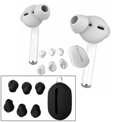 AU6.99 • Buy Silicone In Ear Hooks Earbuds Tip Cover Fit For Apple AirPods EarPods Headphones