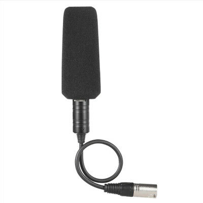 £11.82 • Buy Shotgun DV Interview Mic Microphone Video Camera Camcorder XLR CableConfere T Kw