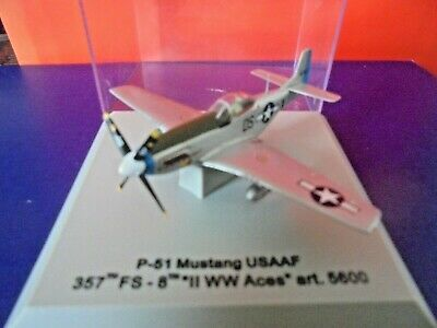 Armour Collection Scale 1:100 - P-51 Mustang Usaaf 357th Fs Ww Ii Aces Art 5600 • 8.95£