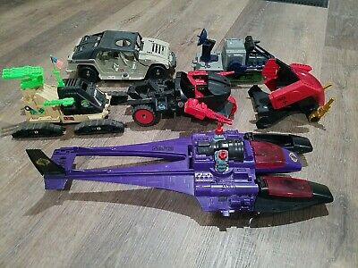 $ CDN159.49 • Buy Lot Of 6 Vintage GI Joe Vehicles Ships