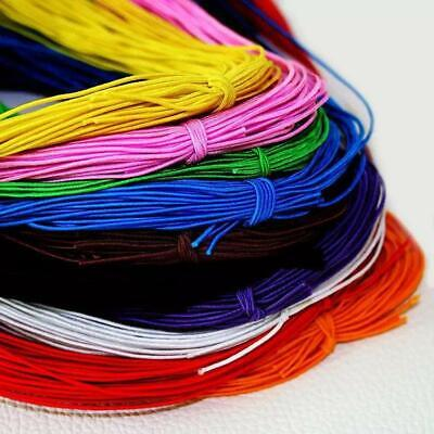 $ CDN9.78 • Buy Beading Elastic Cord 1mm - 25m Stretchy Jewellery String - 10 Colours