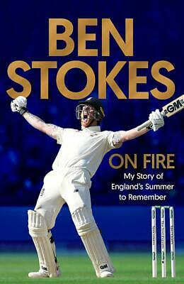 AU150 • Buy Ben Stokes Signed Book  On Fire - My Story Of England's Summer To Remember  +COA