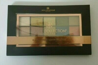 Body Collection England Eyeshadow Pallette • 8.75£