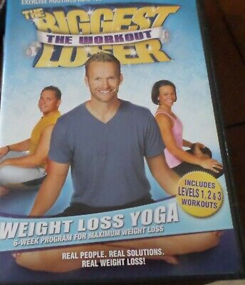 The Biggest Loser The Workout: Weight Loss Yoga (DVD, 2008) Bob Harper VIDEO • 5.03£