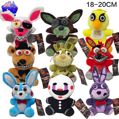 AU13.99 • Buy Five Nights At Freddy''s FNAF Horror Game Plush Doll Kids Plushie Toy Gift 7