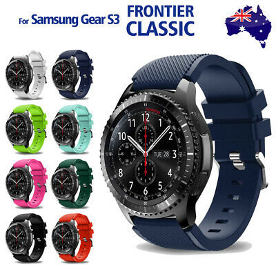 AU4.75 • Buy Gear S3 Frontier Classic Fashion Sports Silicone Bracelet Strap Band Samsung