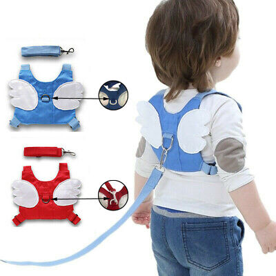 Baby Safety Toddler Wing Walking Harness Child  Strap Belt Keeper Reins Aid UK • 5.99£