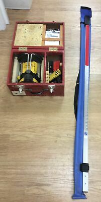 Stabila Laser Level LAPR 100 In Carry Case With Rule And Faulty Reciever. • 119.99£