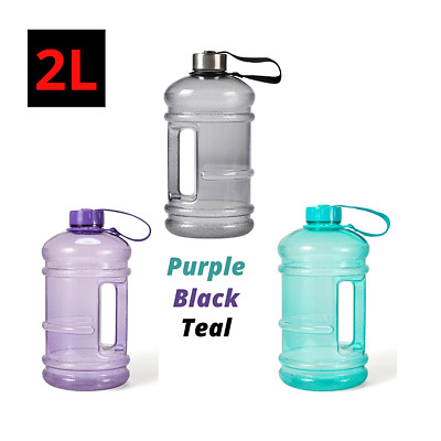 AU11.45 • Buy Anko 2L Water Bottle With Handle Large Sports Workout Gym Training Bike Camping