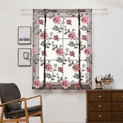 Voile Net Curtains Made Printed Floral Living Dining Room Bedroom Modern SPM • 4.88£