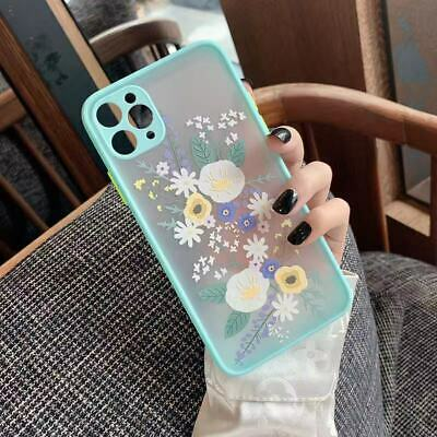 AU5 • Buy Slim Cute Flower Shockproof Case Clear Silicone IPhone 12 11 Pro Max Mini 2021