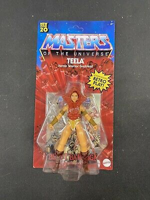 $22.99 • Buy Masters Of The Universe Origins Wave 1 Teela - Unopened Unpunched