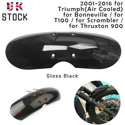 Motorcycle Front Fender Mudguard Universal For Scooter Offroad Cruiser Bobber UF • 15.99£