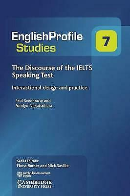 The Discourse Of The IELTS Speaking Test, Seedhouse, Paul,  Paperback • 40.29£