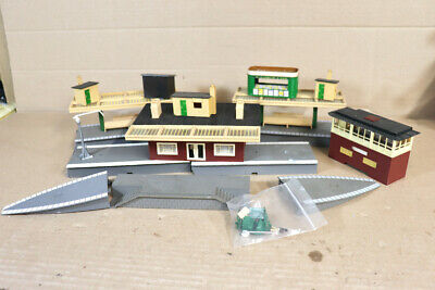TRIANG HORNBY R585 R460 R464 STATION PLATFORM CANOPY TICKET OFFICE END RAMPS 1ny • 59.50£