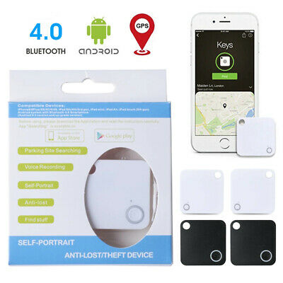 4Pcs Tile Slim Combo Pack GPS Bluetooth Tracker Key Finder Anything Locator • 10.70£