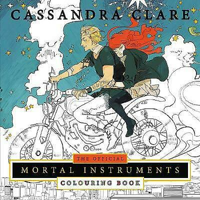 Official Mortal Instruments Colouring Book, Clare, Cassandra,  Paperback • 9.12£