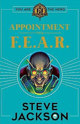 AU10.61 • Buy Fighting Fantasy: Appointment With F.E.A.R., Steve Jackson,  Paperback