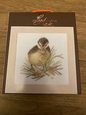 """Lanarte Complete Counted Cross Stitch """"Duckling"""" • 13.99£"""