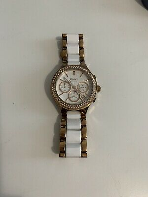 DKNY NY8183 Womens Rose Gold Watch - Used RRP £139, Please Read Description! • 35£