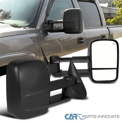 $96.95 • Buy For 03-07 Chevy Silverado GMC Sierra Pickup Power Heat Extending Towing Mirrors