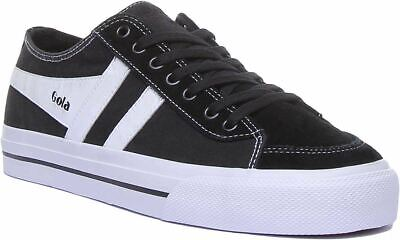 £49.99 • Buy Gola Classics Quota 2 A-Lace Up Cupsole Casual In Black White Size Uk 6 - 12