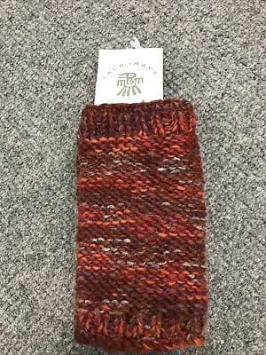 Pachamama Islay Handwarmer Red Holes For Thumbs To Go Into • 10£