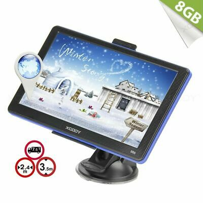 AU69.49 • Buy XGODY 7'' GPS Navigation POI 8GB 256MB RAM For Car Truck HGV Outdoors Navigator