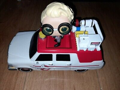 Ghostbusters Ecto-1 & Jillian Holtzman  Original Funko Pop Ride Unboxed • 14.99£