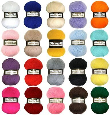 Marriner Yarns Double Knit Bumper Pack | 5 X 100g Balls Of Double Knitting Yarn • 7.50£