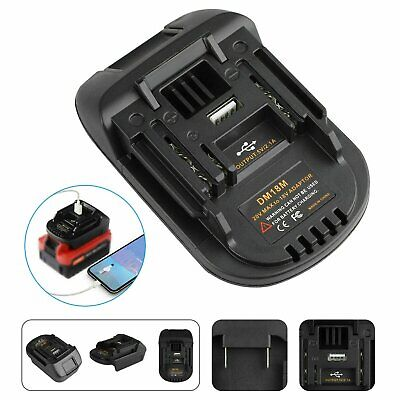 AU22.94 • Buy Portable Battery Adapter For Makita Tools Convert To Milwaukee 18V Battery