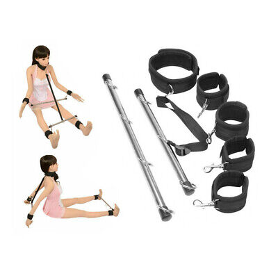Lockable Bondage Hand Spreader Bar Wrist Ankle Cuffs Play Restraints Toy UK • 12.99£