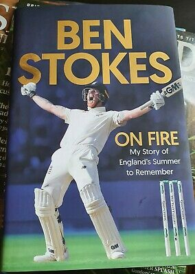 Ben Stokes Signed Book And W G Grace First Edition 'Cricket'. Super Xmas Gift • 38£