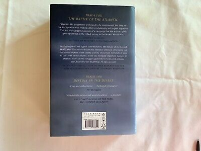 AU28.84 • Buy Jonathon Dimbleby The Battle Of The Atlantic NEW Hardback Book Dedicated Signed