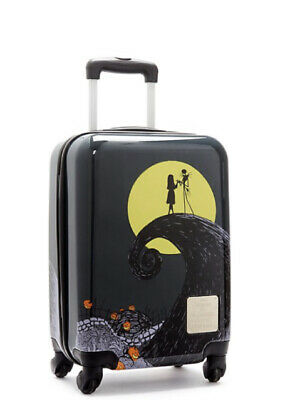 Disney Store The Nightmare Before Christmas Rolling Luggage NEW With Tags! • 49.99£