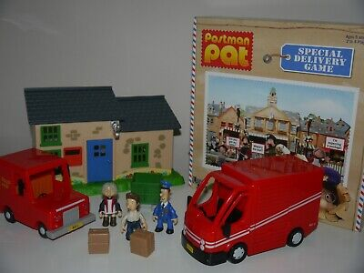 Postman Pat Bundle Greendale Post Office Lorry Van Figures Complete Board Game_6 • 22.99£
