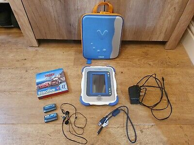 Vtech Innotab With Main Adaptor, 3 X Games, Earphones And Carrying Case • 35.50£