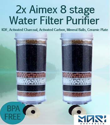 AU60 • Buy 8 Stage Water Filter Replacement Cartridge Water Filter Dispenser Purifier Safe