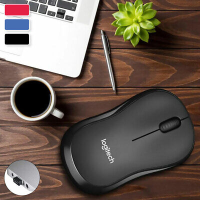AU15.49 • Buy Logitech Optical Wireless Mouse Gaming Mice USB Receiver For PC Laptop Mac IPad