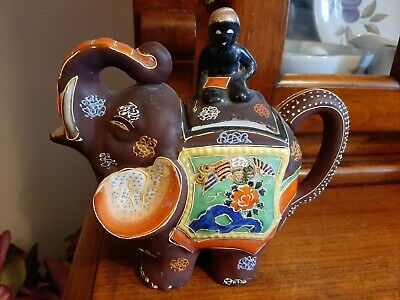 Elephant Design Decorative Teapot • 25£