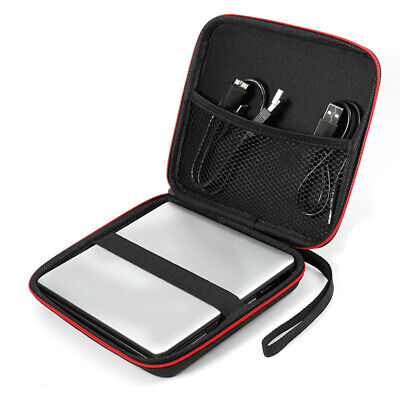 Carrying Storage Case For CD DVD Writer Blu-Ray & External Hard Drive Cover Bag • 5.98£