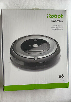 IRobot Roomba E6 Wi-Fi Connected Robot Vacuum E6134 Brand New & Sealed • 794.65£