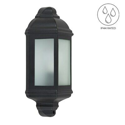 Aluminium Outdoor Wall Lantern Traditional Light LED Bulb Garden Porch Lighting • 18.99£