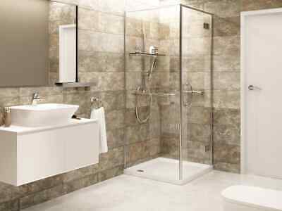 £40 • Buy Biscuit Marble Wall Panels, Bathroom Clad, Shower Wall, PVC Wall Board