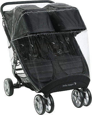 Baby Jogger Weather Shield Pushchair Rain Cover | For City Mini 2 Double & City • 45.70£