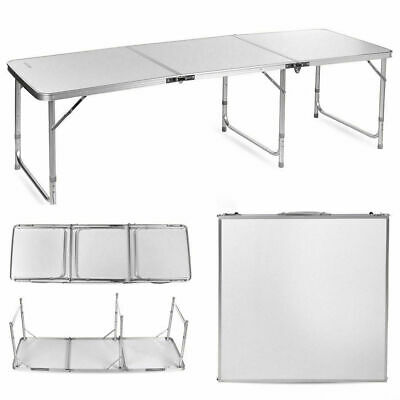 £44.99 • Buy  6FT 180 X 60CM HEAVY DUTY FOLDING TABLE PORTABLE CAMPING GARDEN PARTY CATERING